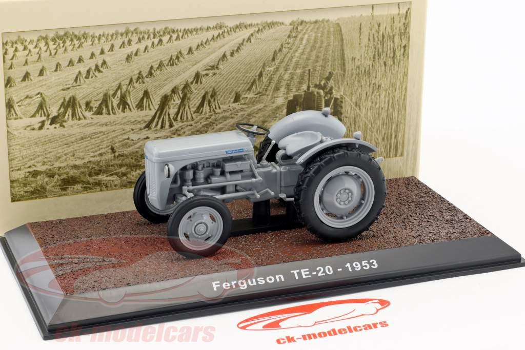 Ferguson TE-20 tractor year 1953 gray 1:32 Atlas