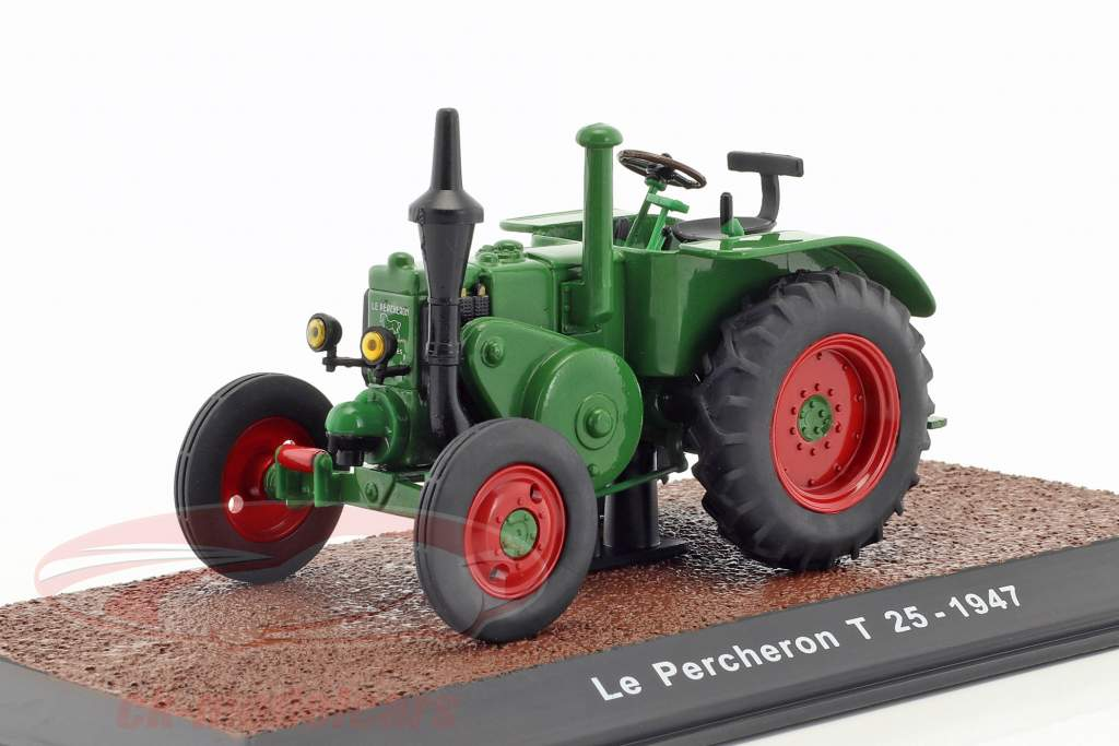 Le Percheron T 25 tractor  year 1947 green 1:32 Traktor
