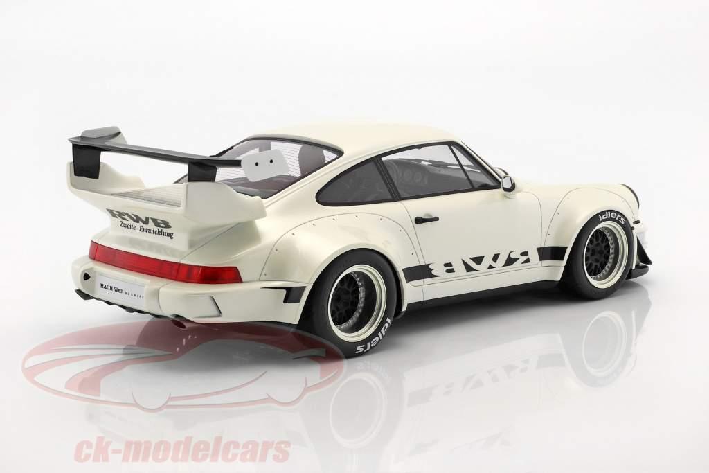 Porsche 911 (964) RWB pearl weiß 1:12 GT-Spirit