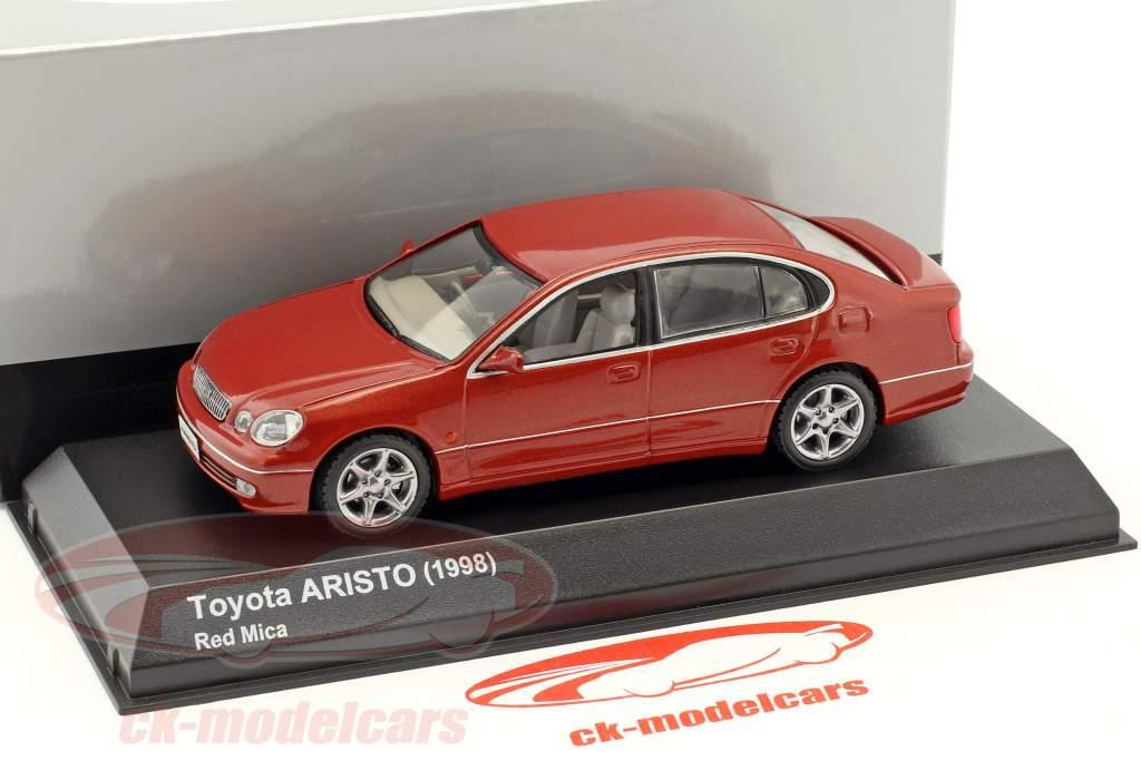 Toyota Aristo year 1998 red 1:43 Kyosho