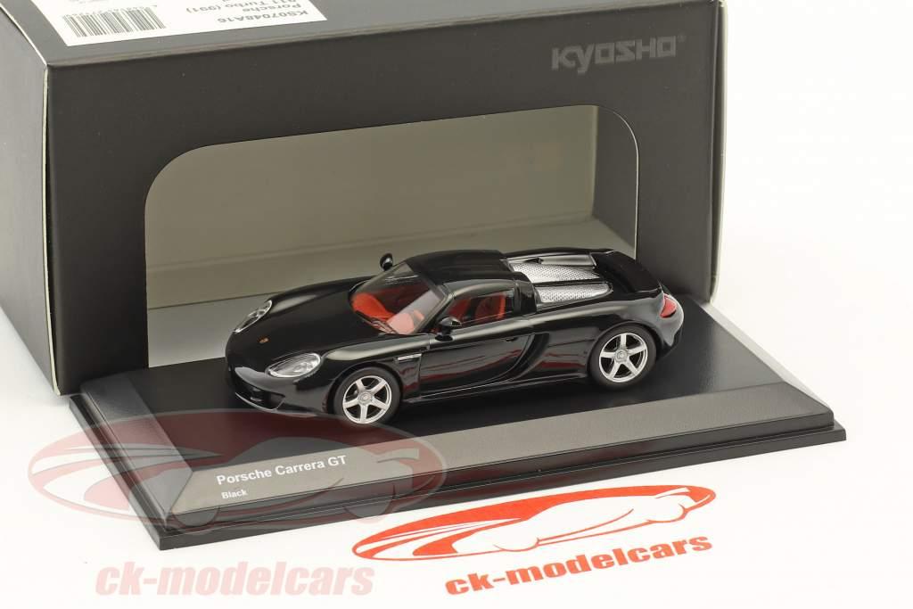 Porsche Carrera GT schwarz 1:64 Kyosho