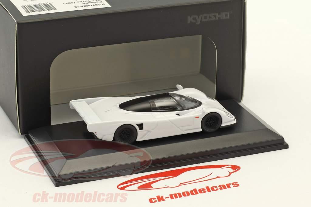 Porsche 962C white 1:64 Kyosho
