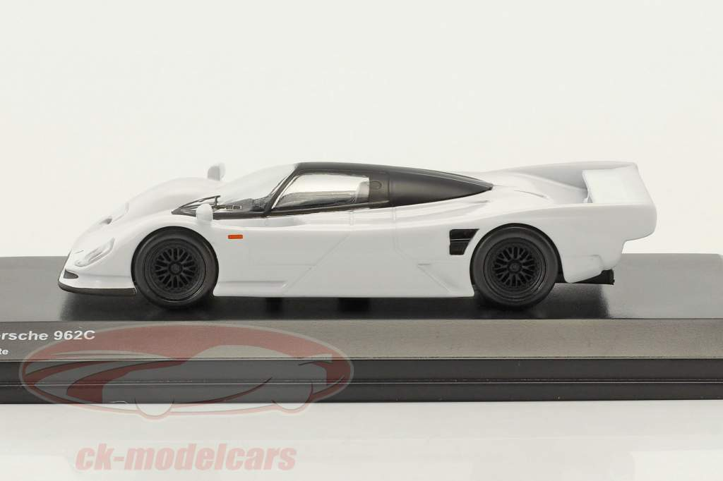 Porsche 962C bianco 1:64 Kyosho