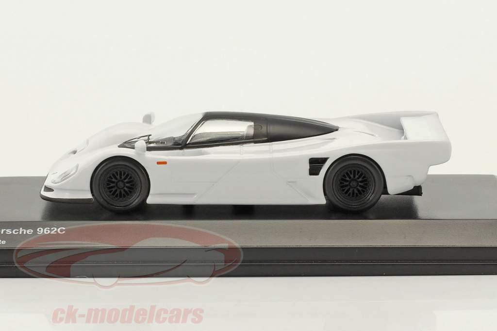 Porsche 962C blanc 1:64 Kyosho