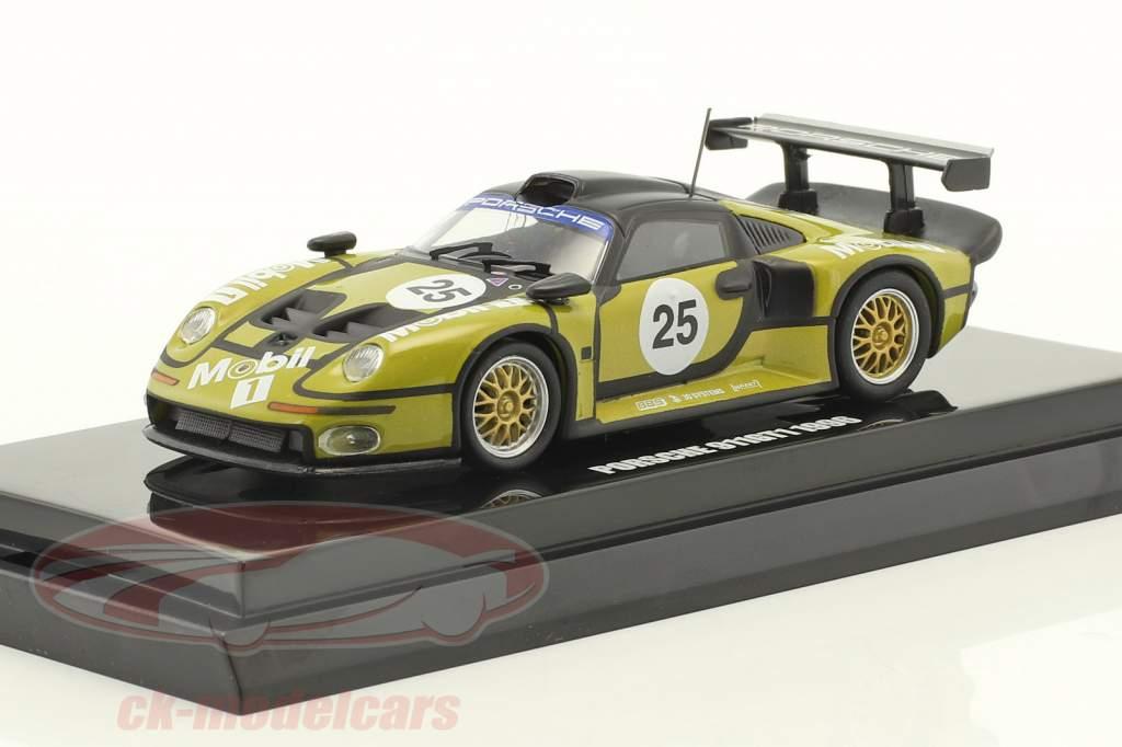 Porsche 911 GT1 #25 Pre-Qualifications 24h LeMans 1996 1:64 Kyosho
