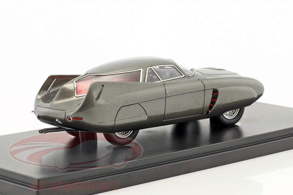 Alfa Romeo B.A.T 5 année de construction 1953 gris foncé 1:43 AutoCult