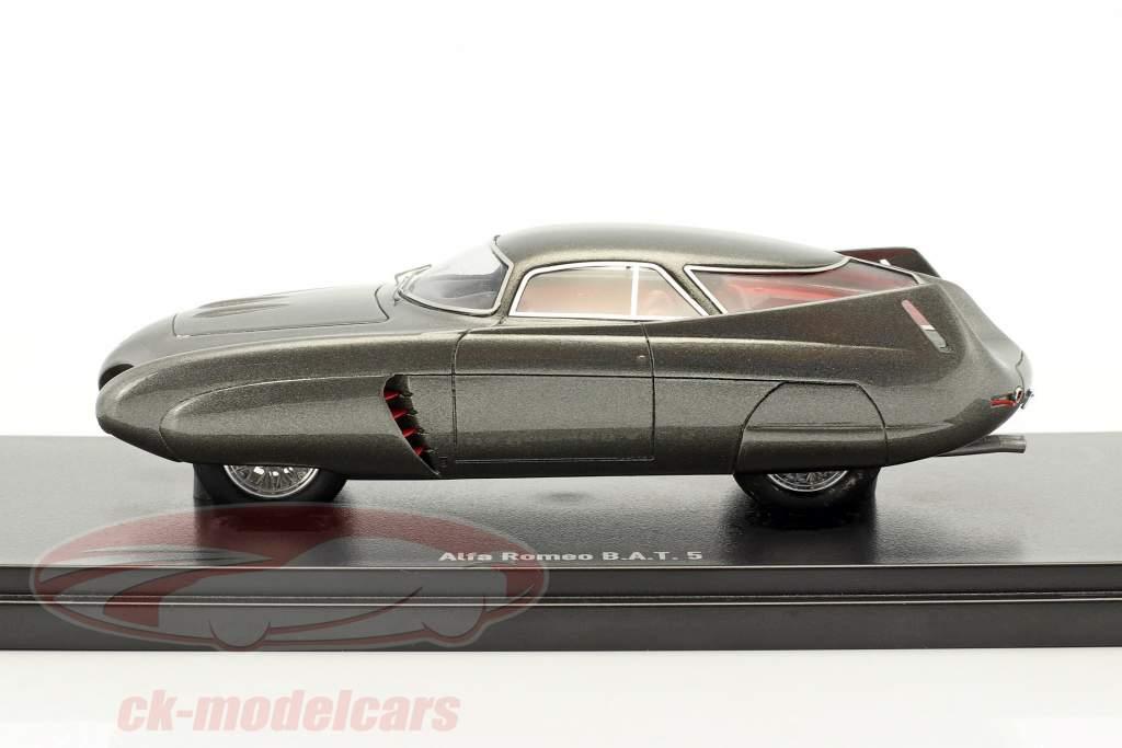Alfa Romeo B.A.T 5 Baujahr 1953 dunkelgrau 1:43 AutoCult
