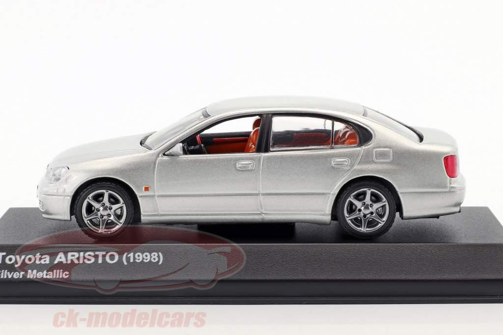 Toyota Aristo anno di costruzione 1998 argento metallico 1:43 Kyosho
