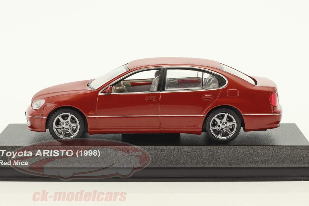 Toyota Aristo Baujahr 1998 rot 1:43 Kyosho