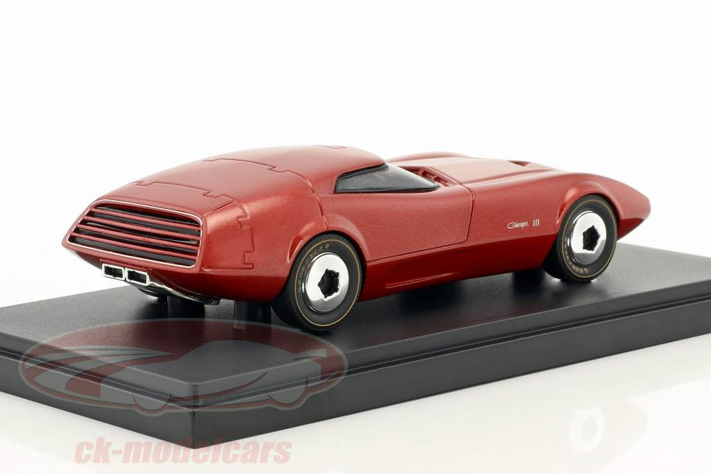 Dodge Charger III année de construction 1968 rouge 1:43 AutoCult