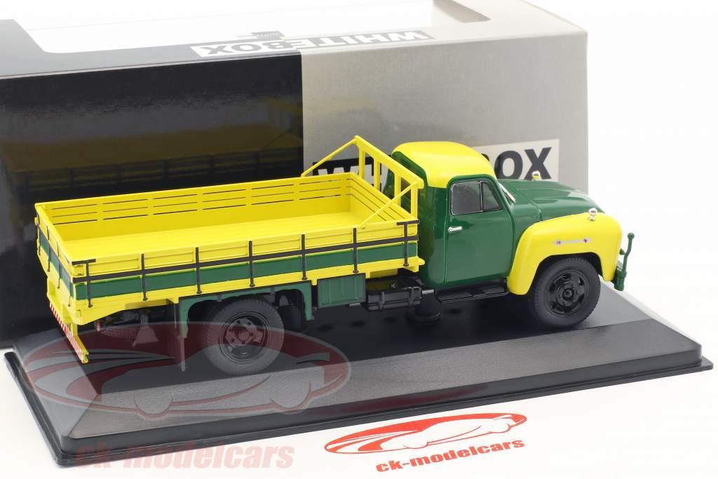Chevrolet C6500 anno di costruzione 1958 giallo / verde 1:43 WhiteBox