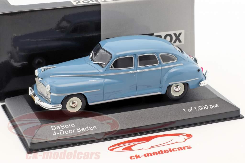 DeSoto 4-Door Sedan year 1946 light blue 1:43 WhiteBox