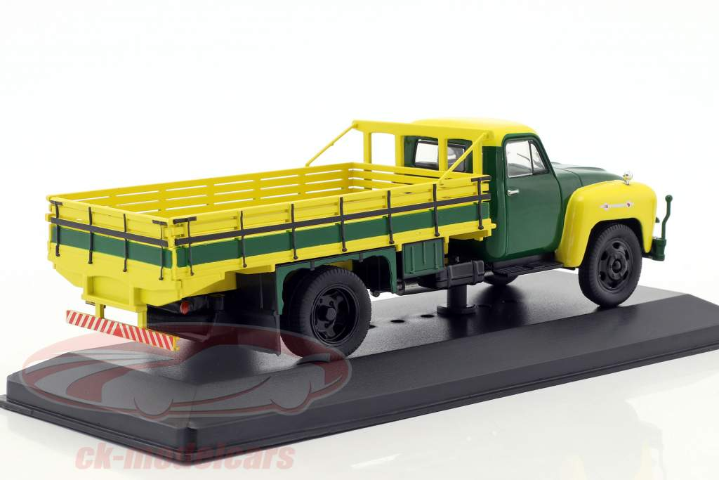 Chevrolet C6500 Construction year 1958 yellow / green 1:43 WhiteBox