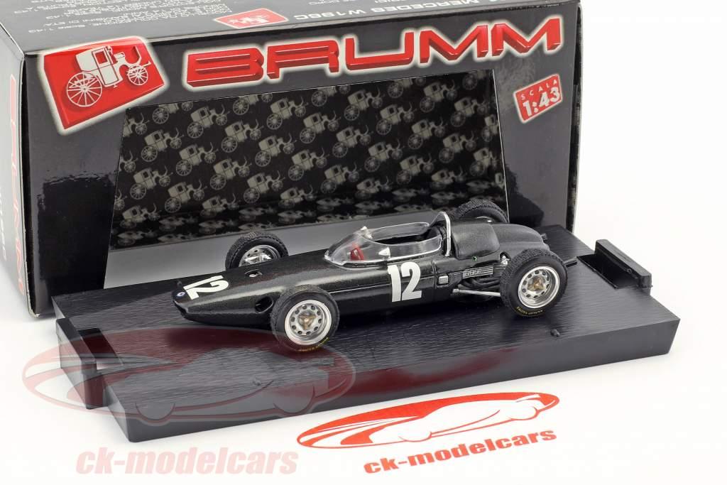 Richie Ginther BRM P57 #12 segundo italiano GP fórmula 1 1962 1:43 Brumm