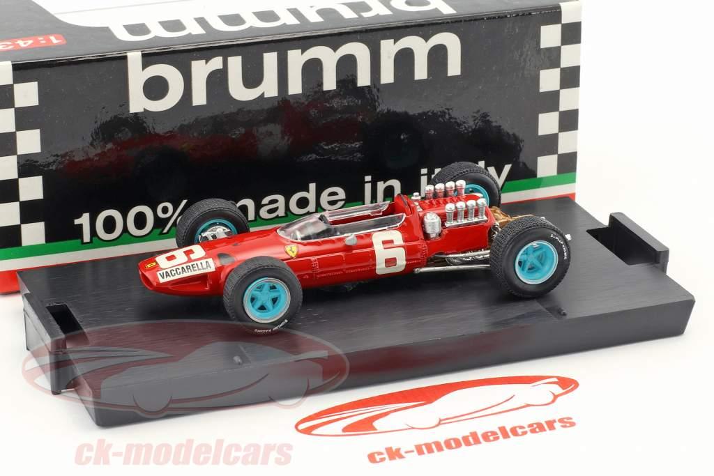 Nino Vaccarella Ferrari 158 #6 italiano GP formula 1 1965 1:43 Brumm