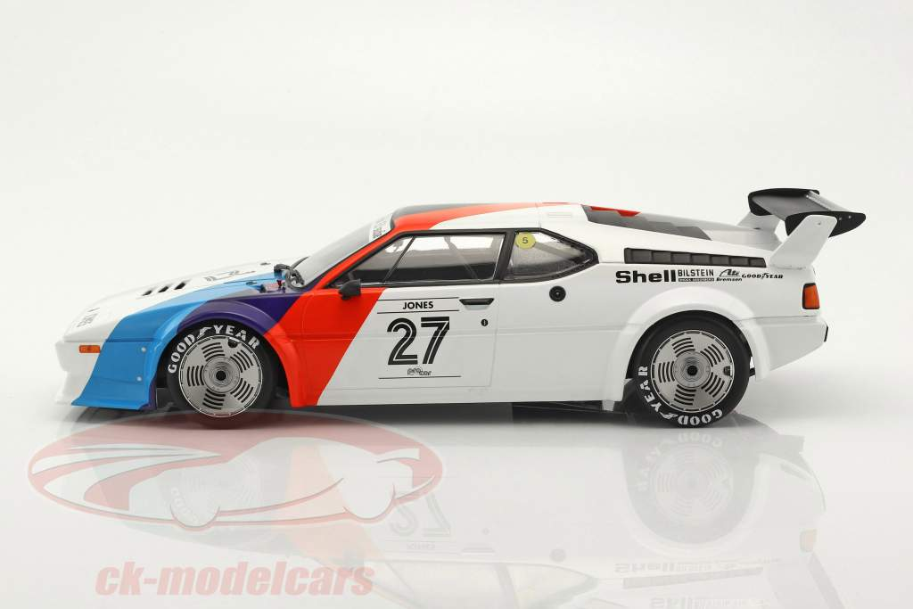 Alan Jones BMW M1 Procar #27 M1 Procar Series 1979 1:12 Minichamps