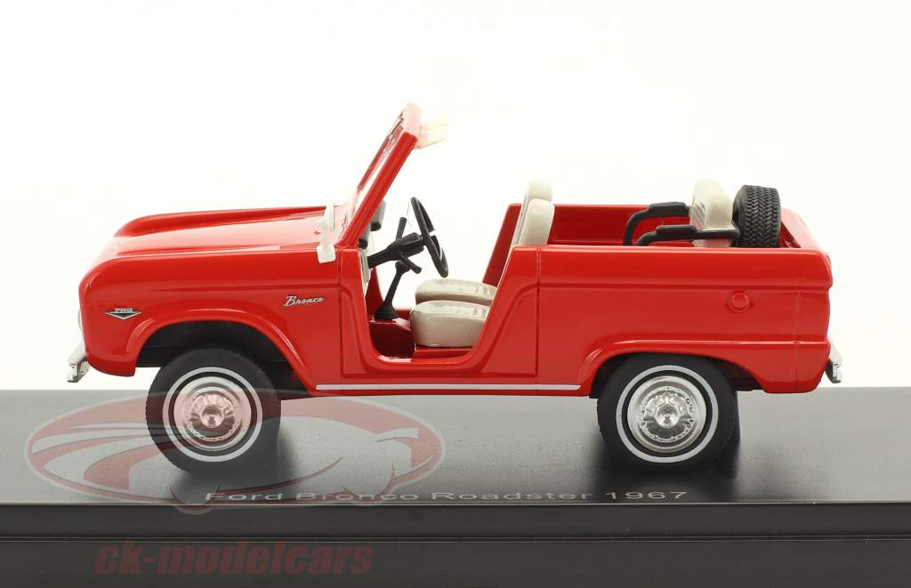 Ford Bronco Roadster Baujahr 1967 rot 1:43 Neo
