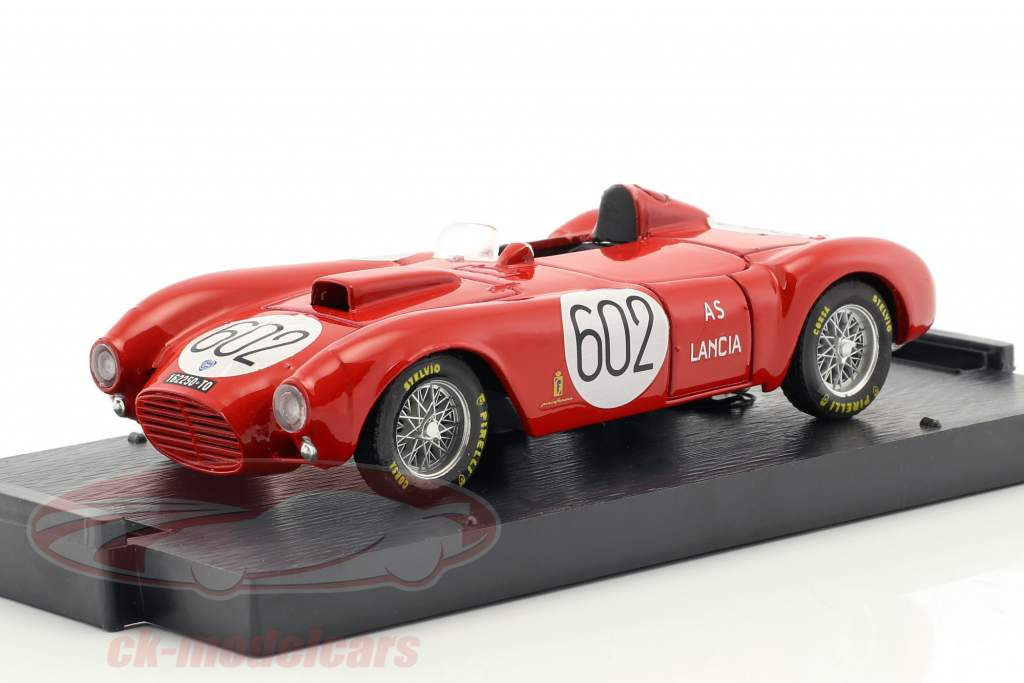 Lancia D24 #602 vencedor Mille Miglia 1954 Alberto Ascari 1:43 Brumm