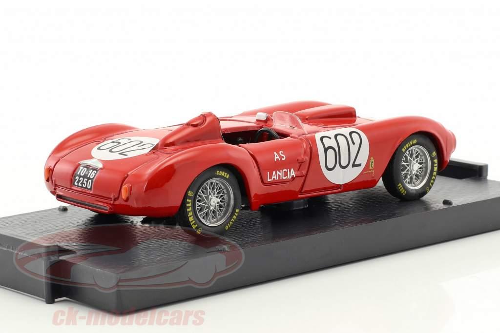 Lancia D24 #602 Winner Mille Miglia 1954 Alberto Ascari 1:43 Brumm