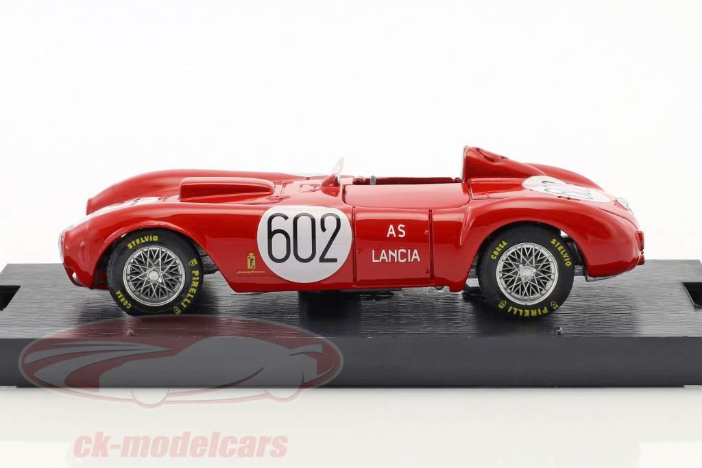 Lancia D24 #602 vincitore Mille Miglia 1954 Alberto Ascari 1:43 Brumm