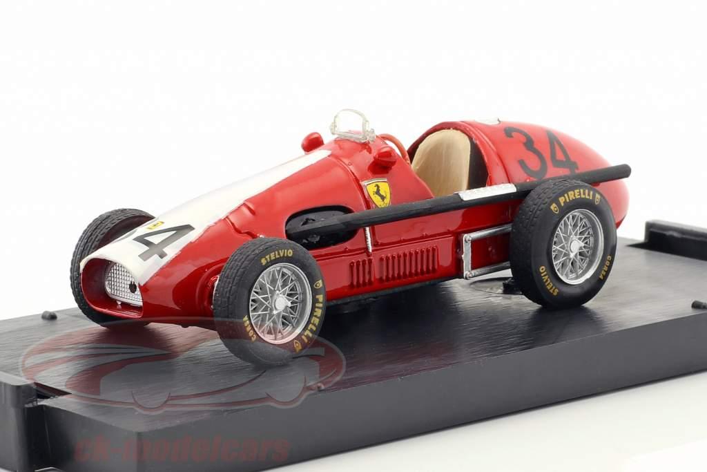 Kurt Adolff Ferrari 500 F2 #34 Alemanha GP Nürburgring fórmula 1 1953 1:43 Brumm