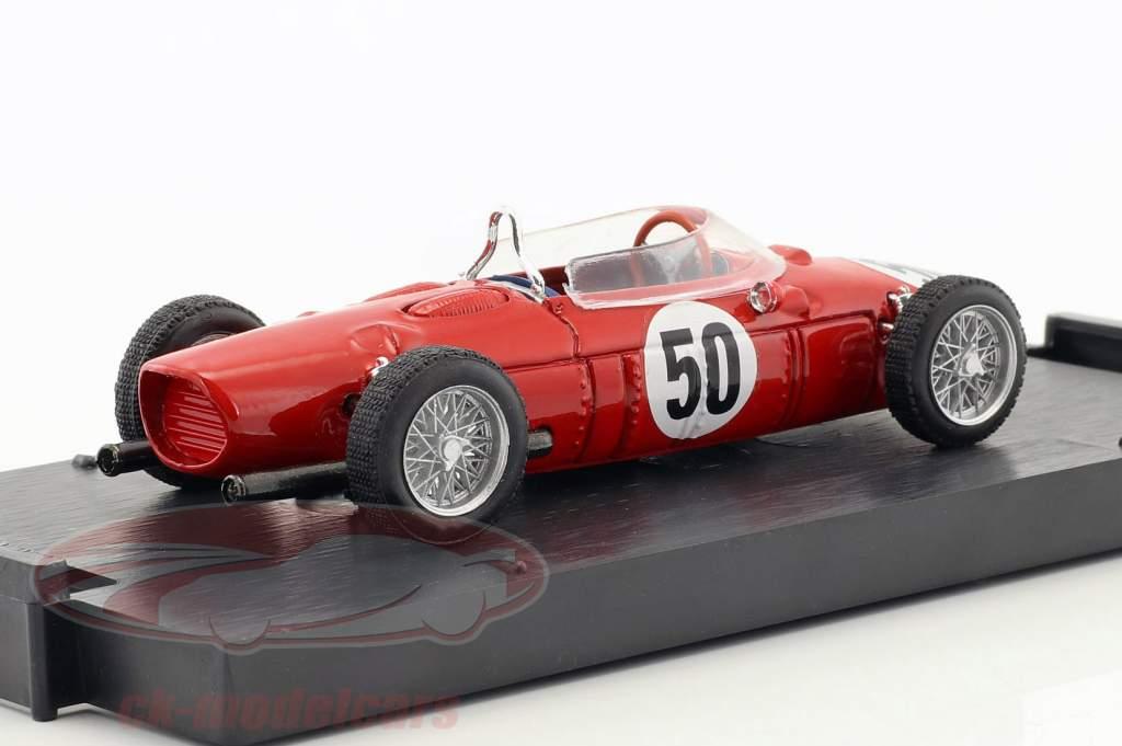 Giancarlo Baghetti Ferrari Dino 156 F1 #50 Winner Frankreich GP Formel 1 1961 1:43 Brumm
