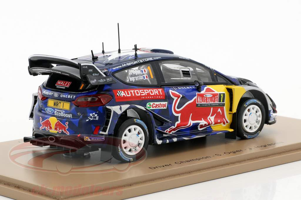 Ford Fiesta WRC #1 3 rassemblement grand Grande-Bretagne 2017 Ogier, Ingrassia 1:43 Spark