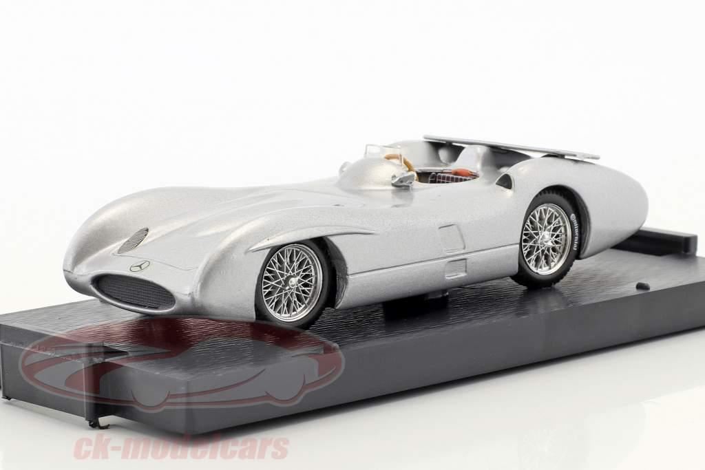 Stirling Moss Mercedes W196C teste Monza fórmula 1 1955 1:43 Brumm