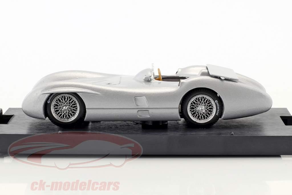 Stirling Moss Mercedes W196C prøve Monza formel 1 1955 1:43 Brumm