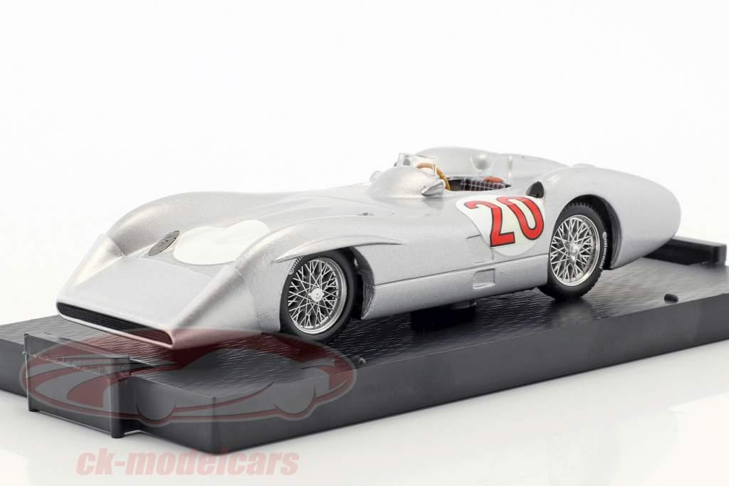 Stirling Moss Mercedes W196C #20 test Monza formula 1 1955 1:43 Brumm