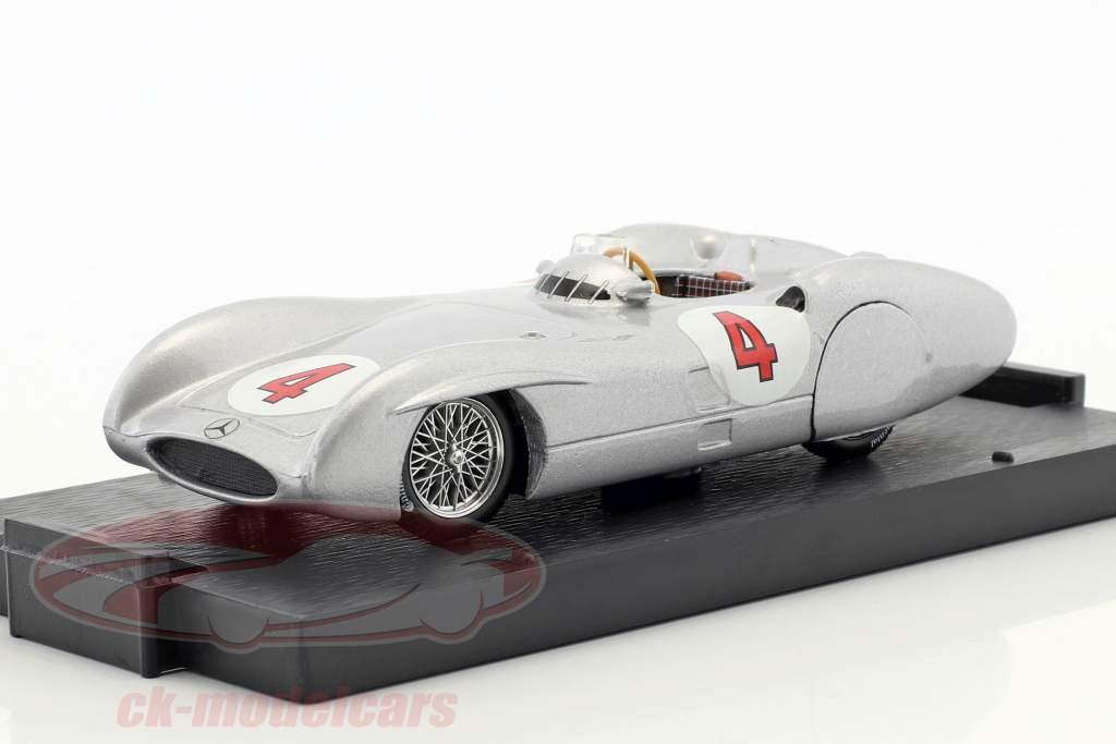 Karl Kling Mercedes W196C #4 prøve Avus formel 1 1954 1:43 Brumm