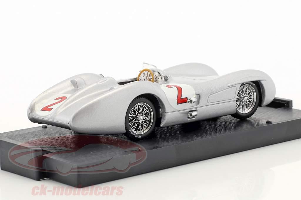 Karl Kling Mercedes W196C #2 britannique GP formule 1 1954 1:43 Brumm