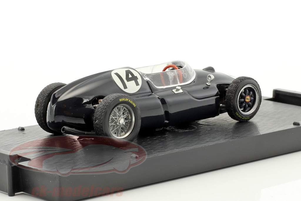 Stirling Moss Cooper T51 #14 Vinder italiensk GP formel 1 1959 1:43 Brumm