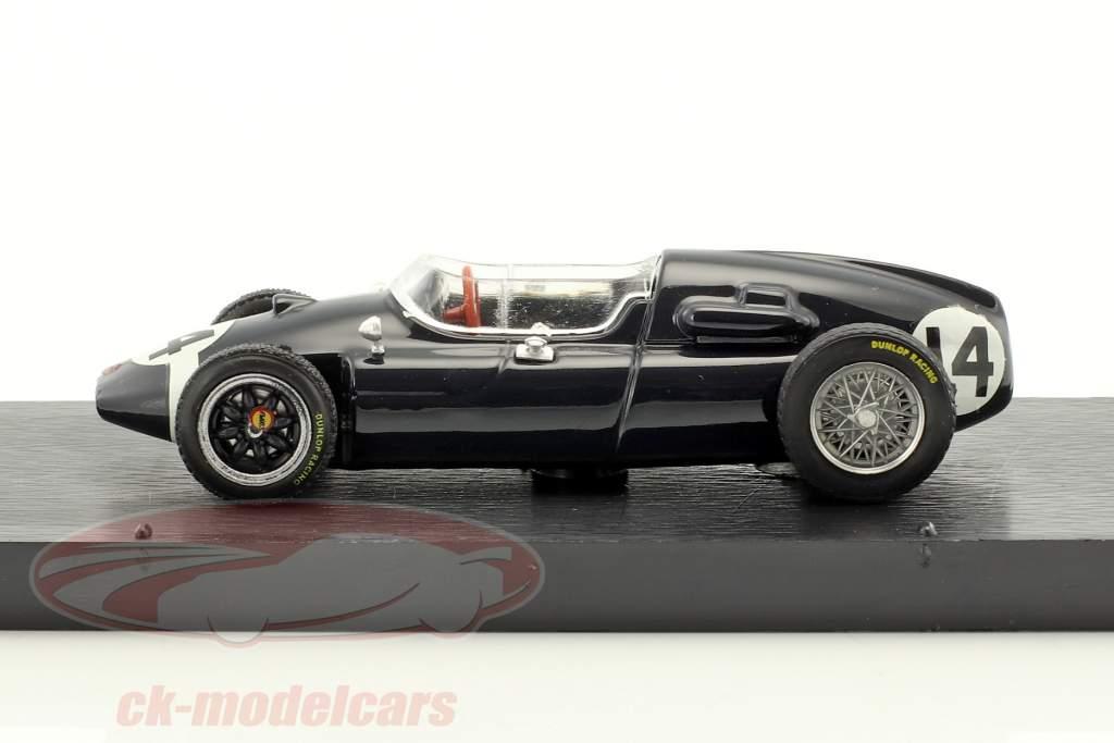 Stirling Moss Cooper T51 #14 gagnant italien GP formule 1 1959 1:43 Brumm