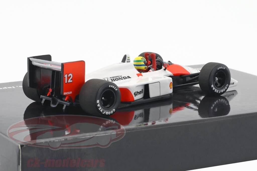 Ayrton Senna McLaren MP4/4 #12 World Champion Japan GP F1 1988 1:43 Minichamps