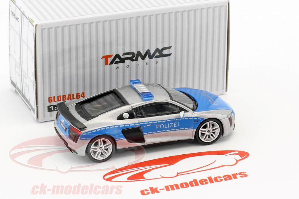 Audi R8 V10 Plus Polizei 1:64 Tarmac Works
