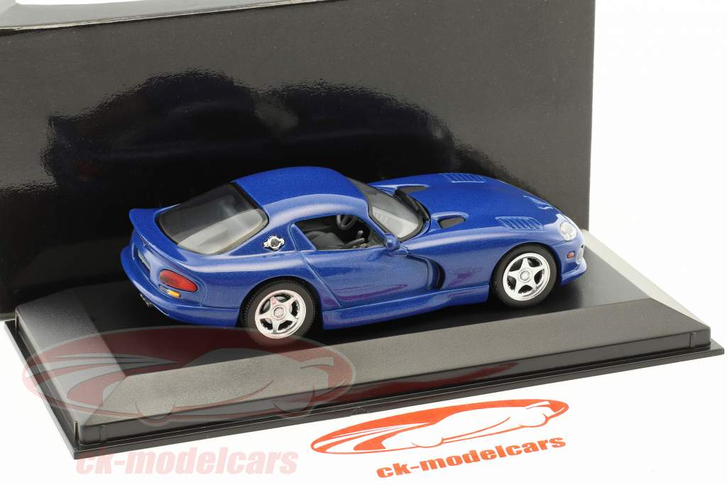 Dodge Viper Coupe année 1993 bleu 1:43 Minichamps