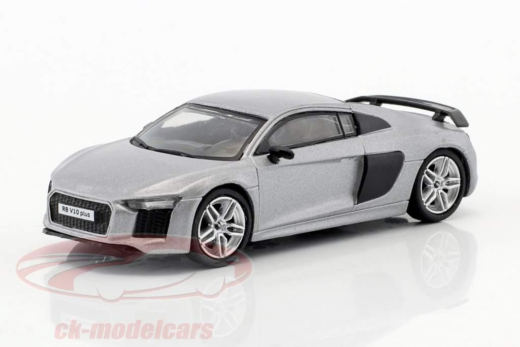 Audi R8 V10 Plus matt silver 1:64 Tarmac Works