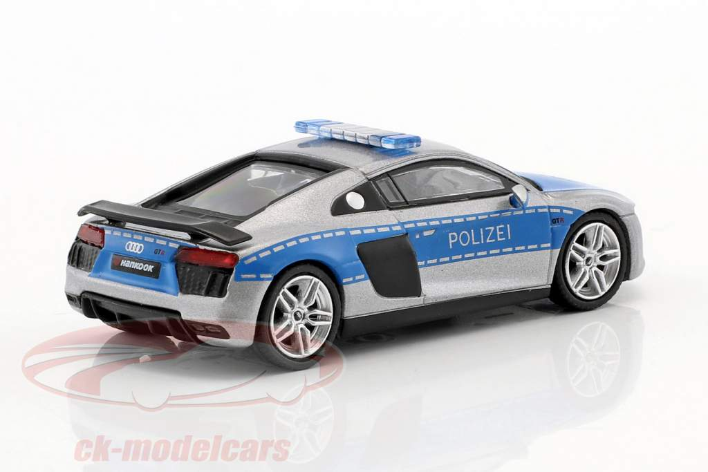Audi R8 V10 Plus police 1:64 Tarmac Works