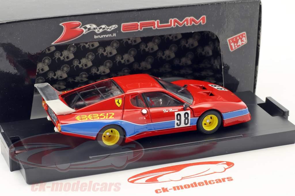 Ferrari 512 BB LM #98 8º 1000km Monza 1982 Del Buono, Govoni 1:43 Brumm