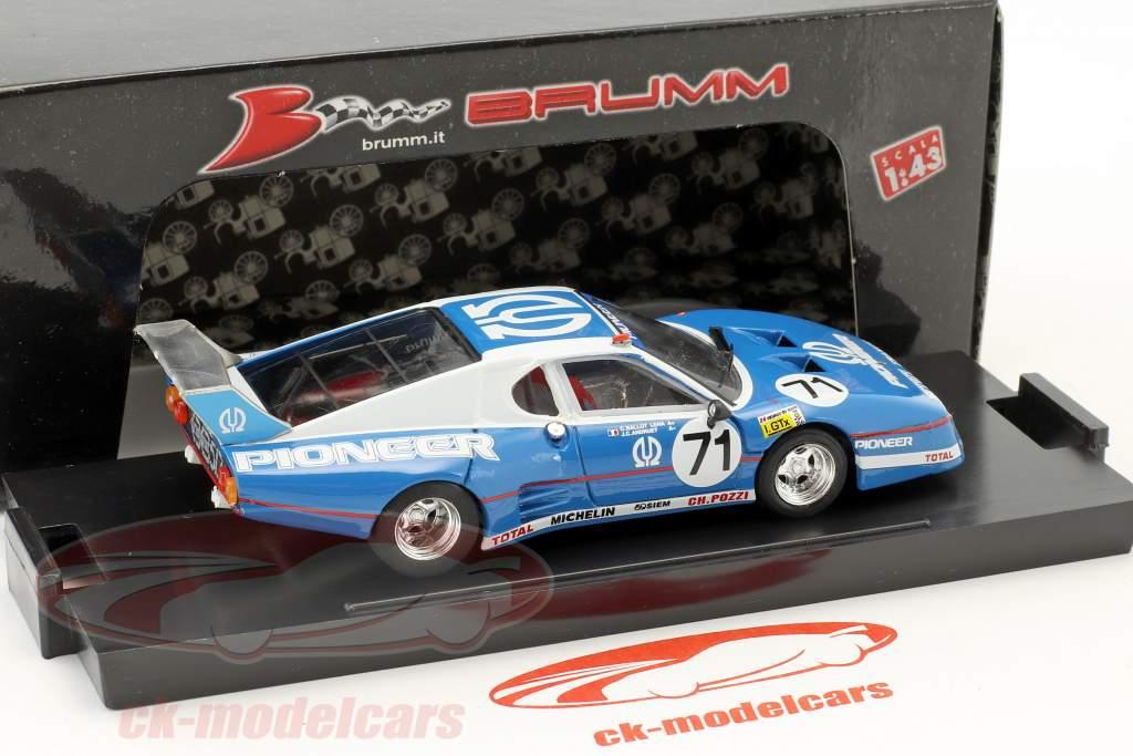 Ferrari 512 BB LM #71 9th 24h LeMans 1982 Ballot-Lena, Andruet, Regout 1:43 Brumm