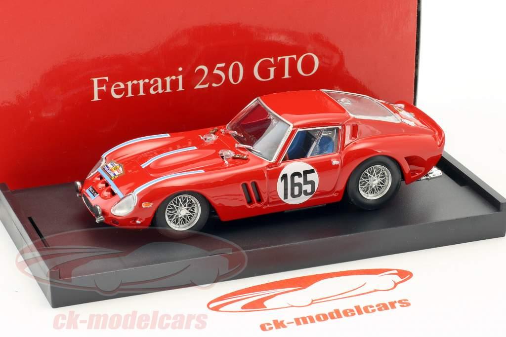 Ferrari 250 GTO #165 Winner Tour de France 1963 Guichet, Behra 1:43 Brumm