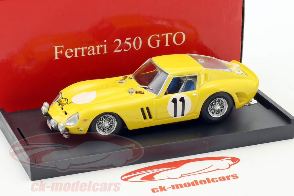 Ferrari 250 GTO #11 Marathon de le Route 1965 Bianchi, Blaton, Berger 1:43 Brumm