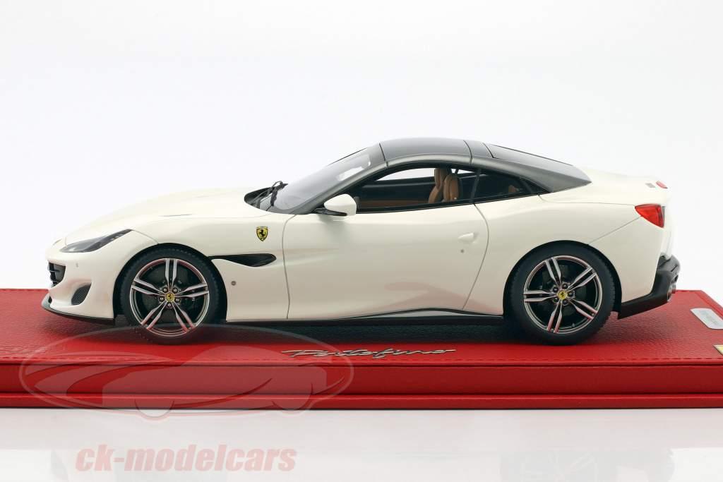 Ferrari Portofino bianco / grigio 1:18 BBR