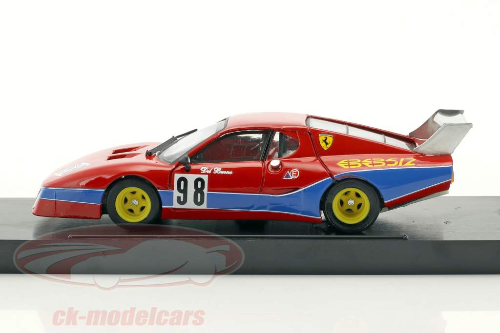 Ferrari 512 BB LM #98 octavo 1000km Monza 1982 Del Buono, Govoni 1:43 Brumm