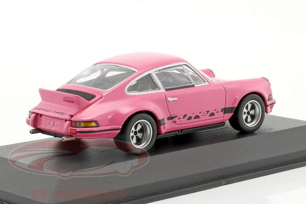 Porsche 911 Carrera RSR 2.8 sPECIAL EDITION Modell Fahrzeug rosa 1:43 Minichamps