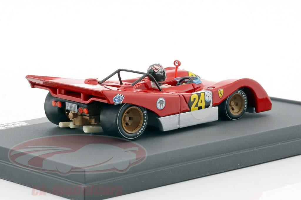 Ferrari 312 PB #24 1000km Buenos Aires 1971 Ignazio Gunti 1:43 Brumm