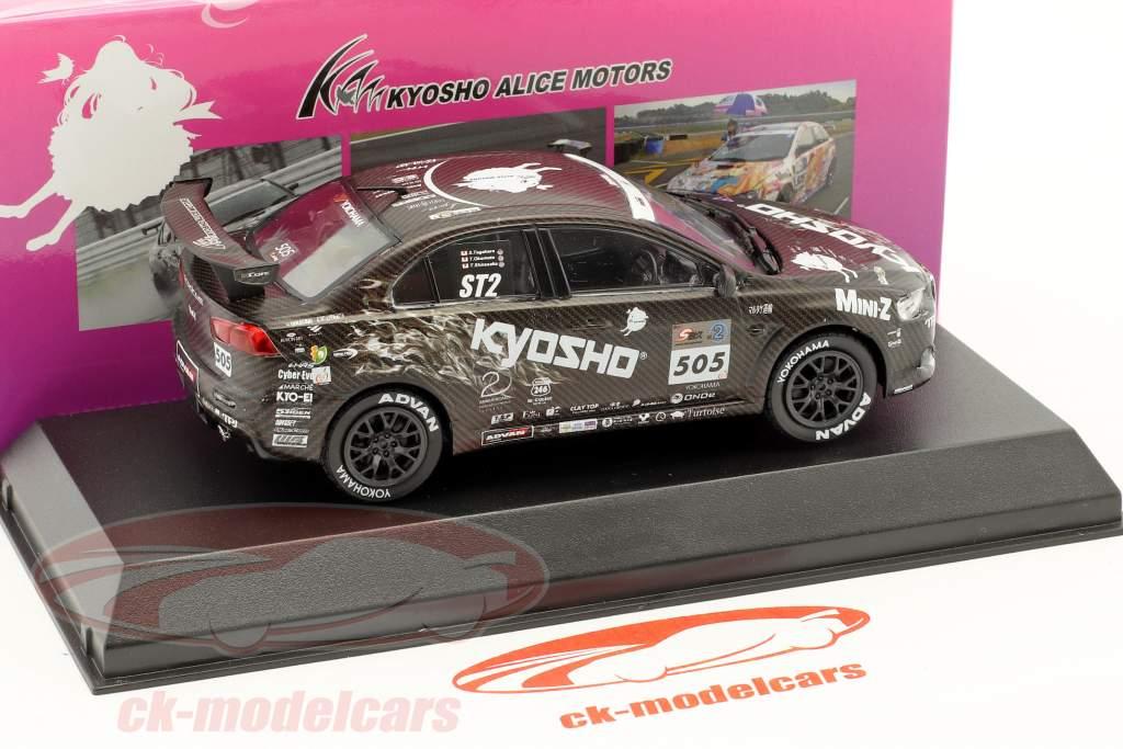 Mitsubishi Lancer Evo X #505 Test Car Alice Motors 2011 1:43 Kyosho