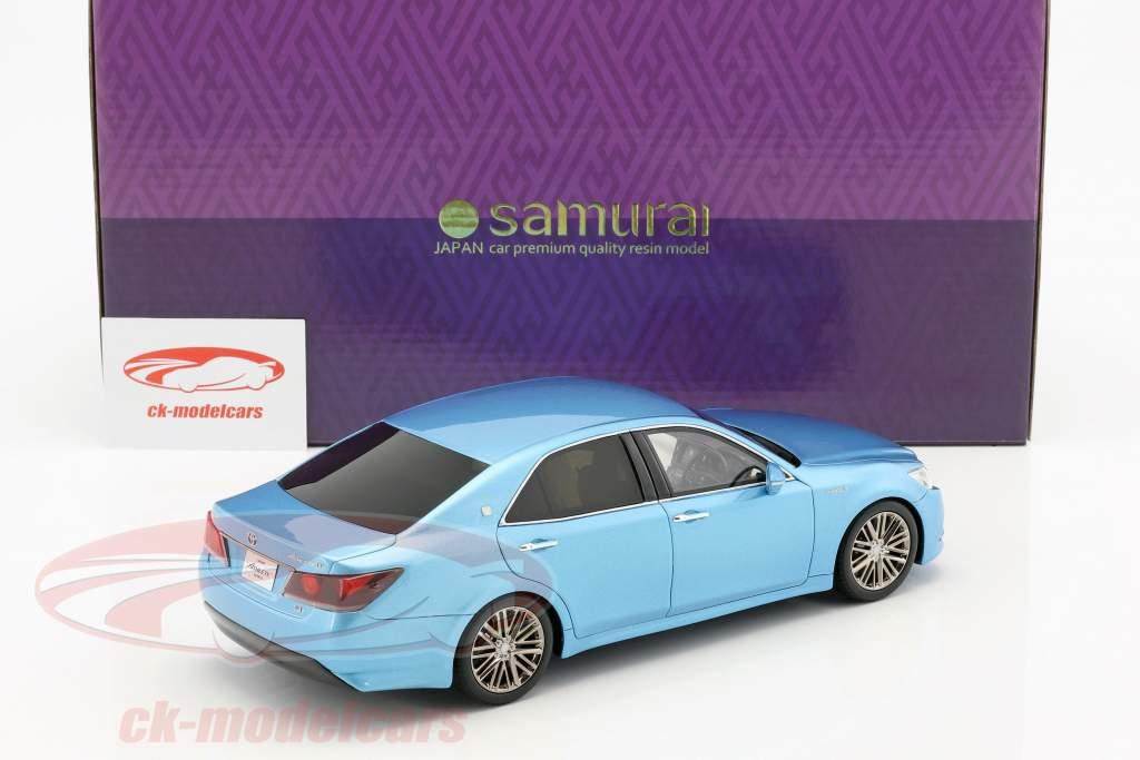 Toyota Crown Hybrid Athlete S blue metallic 1:18 Kyosho