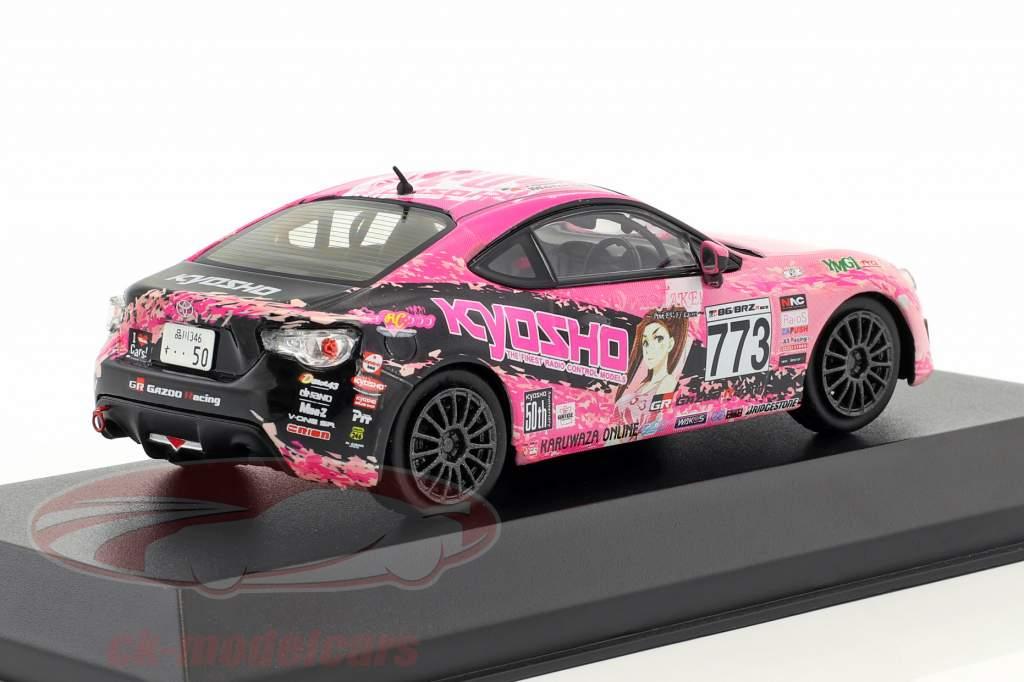 Toyota 86 #773 JKB86 Baujahr 2013 pink / schwarz 1:43 kyosho